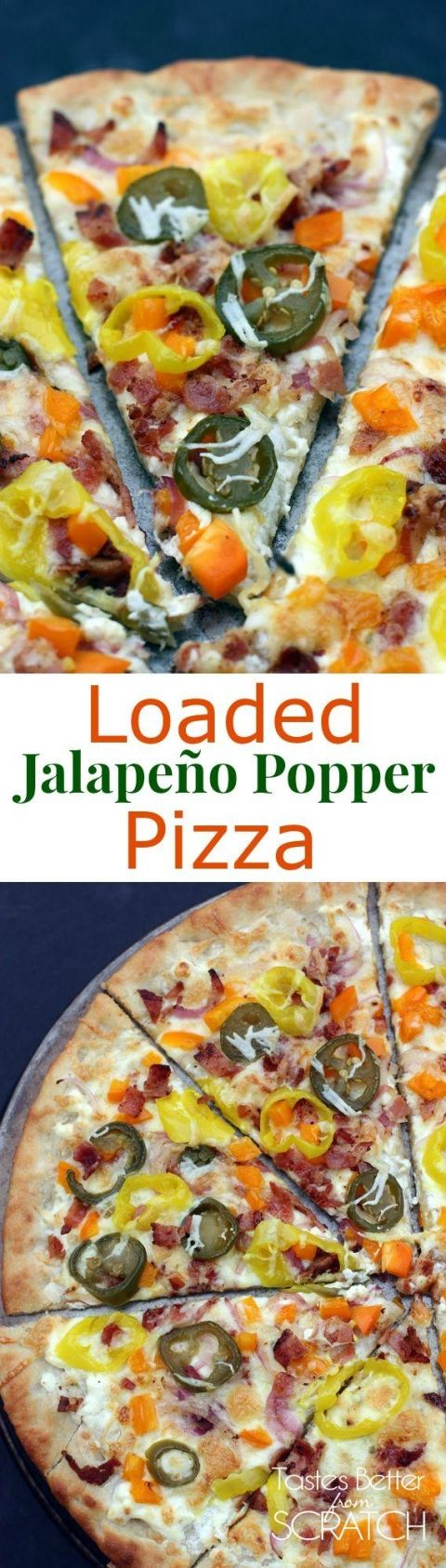 ... Popper Pizza | Recipe | Pizza, Jalapeno poppers and Pizza recipes