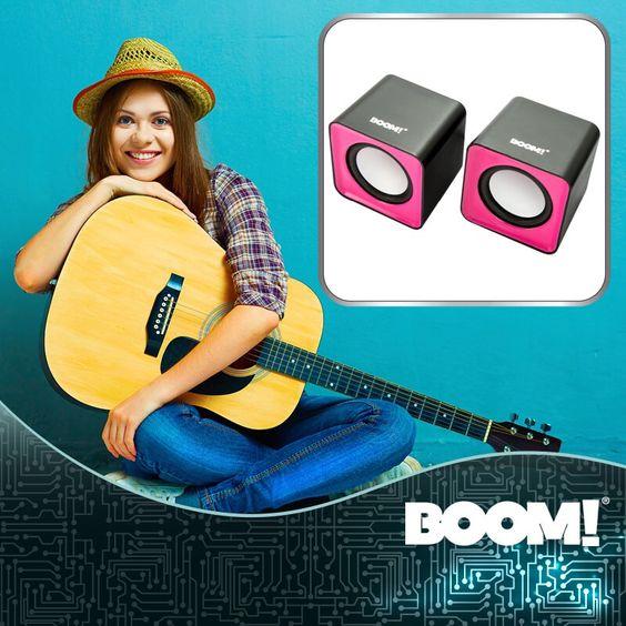 Vive, siente y disfruta tu música con las #MiniBocinasMultimedia