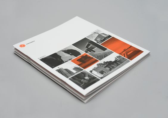 CONCRESUR Corporate Brochure by Hachetresele Studio, via Behance
