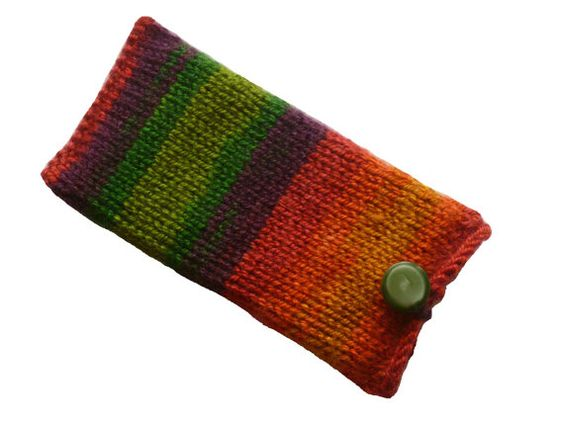 Knit Phone Case Phone Cozy Phone Cover Phone by handicraftland