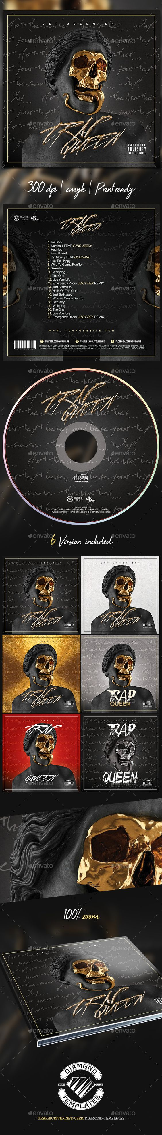 futuristic trap cd mixtape cover template mixtape futuristic and
