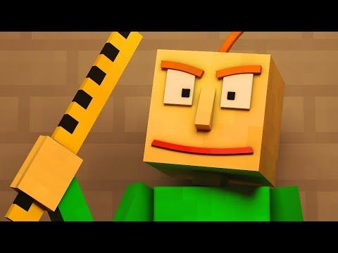 Basics In Behavior Baldi S Basics Animated Minecraft Music