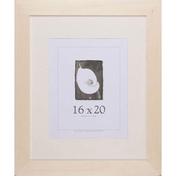 USA DIY Unfinished 16-inch x 20-inch Picture Frame