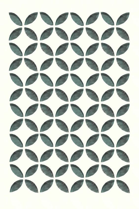 Mid Mod Geometric Print by ShopAmySullivan on Etsy, $45.00