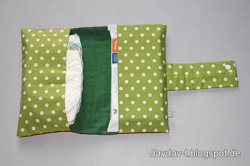 DavDav: creadienstag #035 - Wickeltasche II + Freebook