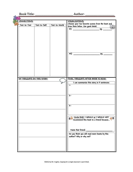 Great fiction text organizer than covers all the bases.