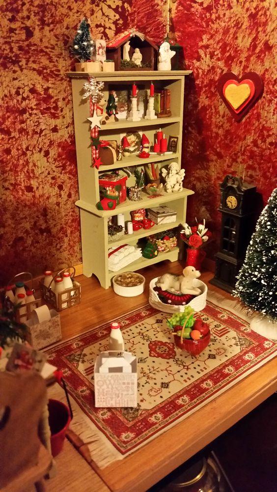 Schuin inkijkje in de kerstkamer