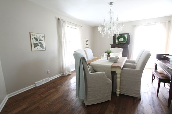 Neutral paint colors neutral paint and accessible beige for Neutral dining room colors