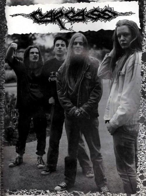 Carcass.. Badass band legit pit saw them in February 2014