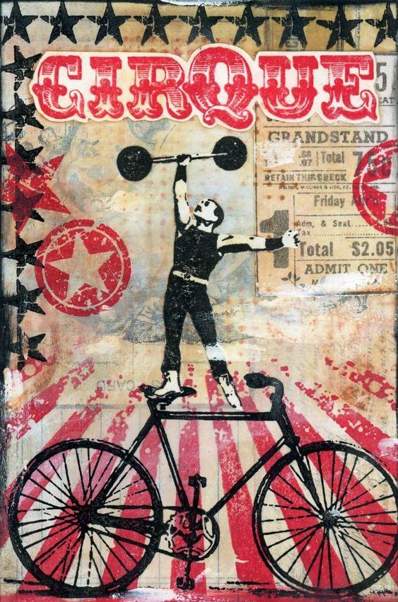 My Heart's Content: Circus Act - Vertigo Graphic Inspiration
