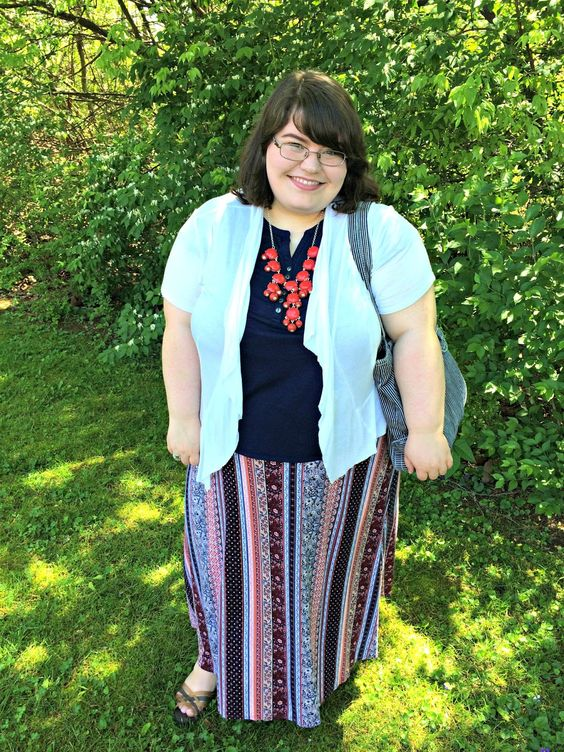 Unique Geek: Plus Size OOTD: Back At It: