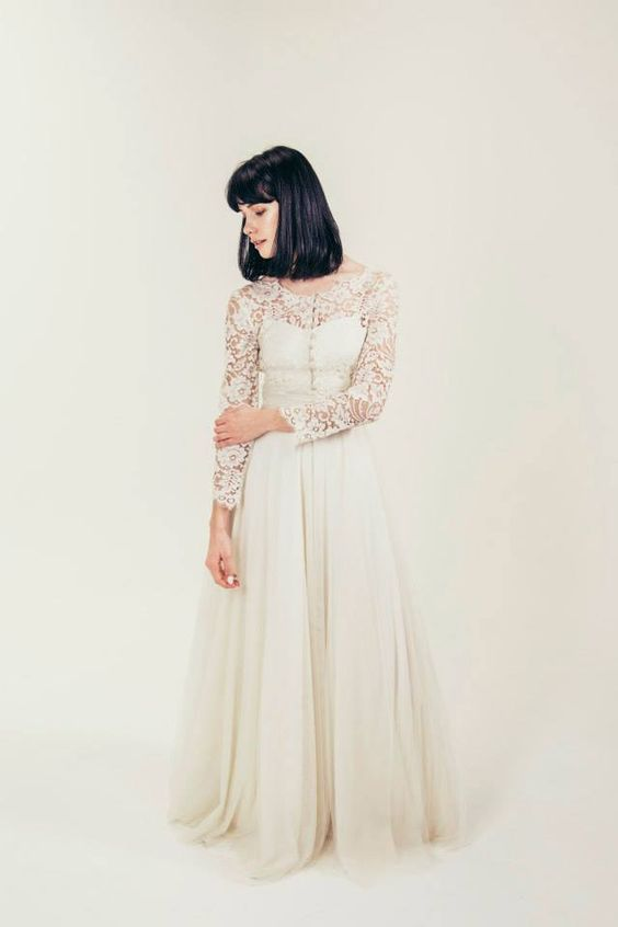 RTW Collection || E&W Couture || Pearl Wedding Gown || Bridal Seperates || Alternative wedding dress