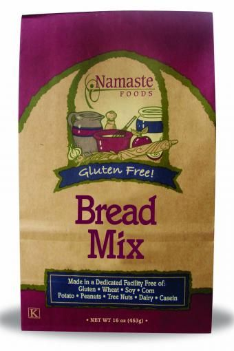 Great Bread Mix - Free of wheat, gluten, soy, corn, potato, dairy, casein, peanuts and tree nuts. Non-GMO. Thank God for Namaste