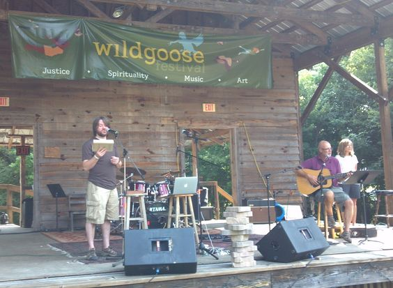 Michelle McConnell reflects on starting each morning at Wild Goose with prayer and worship.