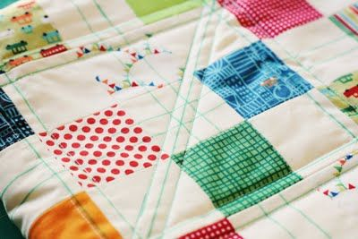 Using crayola markers to mark quilts.  I will be trying this!