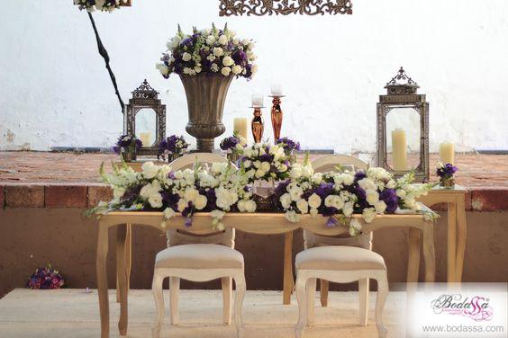 Mesa de novios #BODAS #BODASSA #WEDDINGPLANNER www.bodassa.com