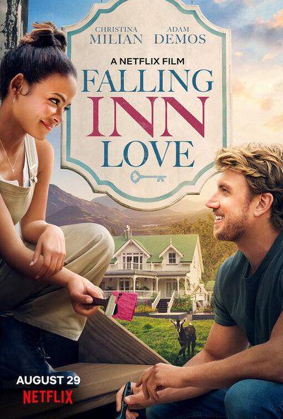 Falling Inn Love Movie Poster Filmes De Comedia Romantica