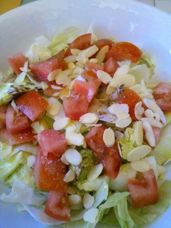 pirinciolando di tutto e di più: insalata con mandorle affettate