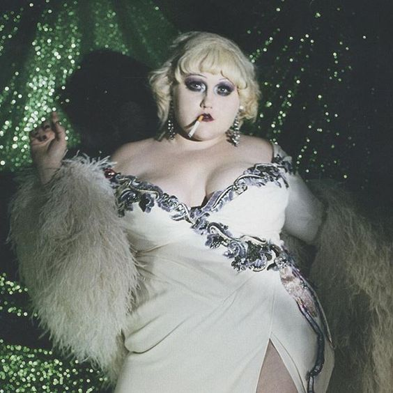 Beth Ditto in Dazed Magazine wearing Marc Jacobs, Spring' 16