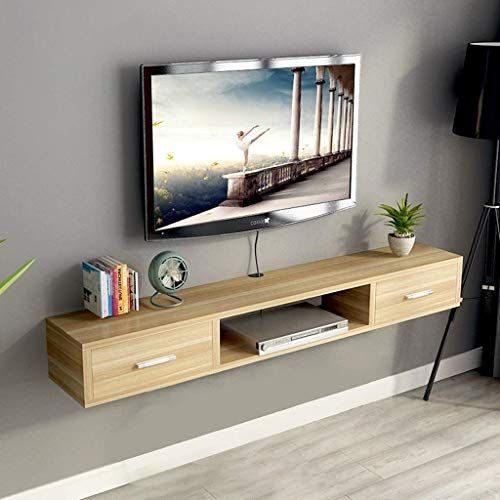 Great For Wall Shelf Floating Shelf Wall Mounted Tv Cabinet With