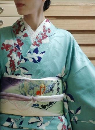 Antique kimono: