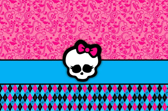 Monster High: Invitations and Party Free Printables. - Is it for ...