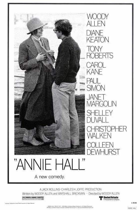 Annie Hall (Woody Allen) Woody Allen, DIane Keaton, Paul Simon, CHristopher Walken