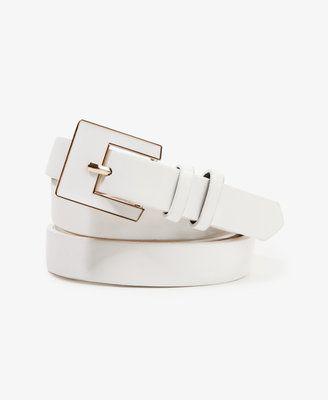 ShopStyle: Forever 21Square Buckle Hip Belt