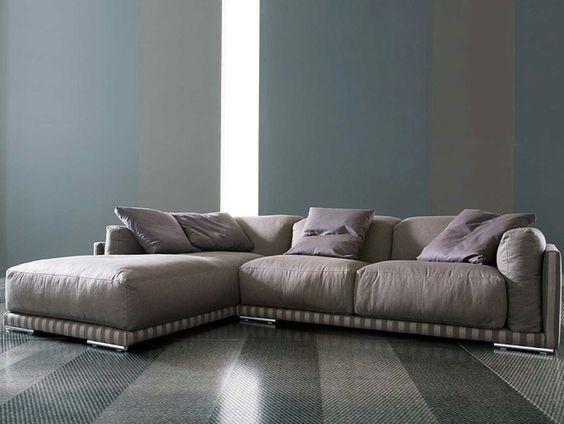 Divano componibile reclinabile SPAZIO by ERBA ITALIA   design Giorgio Soressi