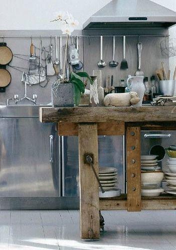 Awesome Tavolo Da Lavoro Cucina Photos - Ideas & Design 2017 ...