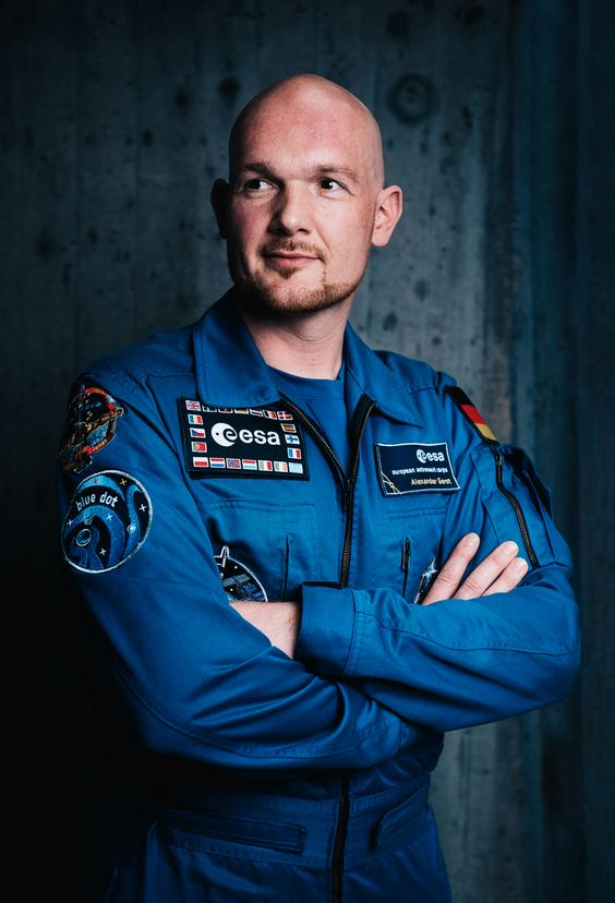 ESA-Astronaut Dr. Alexander Gerst