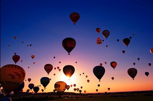 I'm terrified of heights so I may very well keep my eyes closed the entire time, but I still want to take a hot air balloon ride... someday...