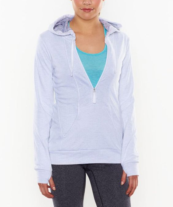 Look at this lucy White Half-Zip Sweatershirt on #zulily today!