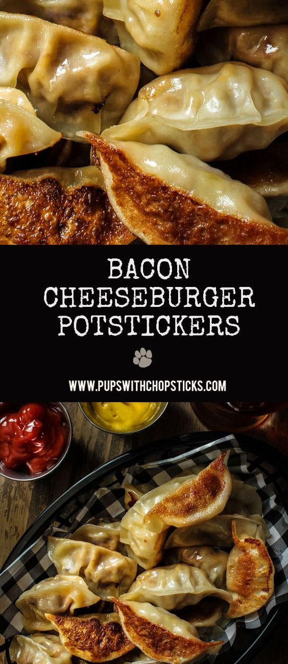 Potstickers (Bacon Cheeseburger)