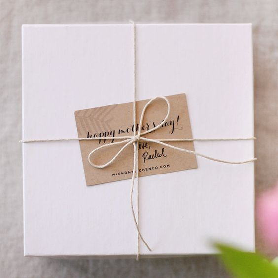 sweet gift wrapping