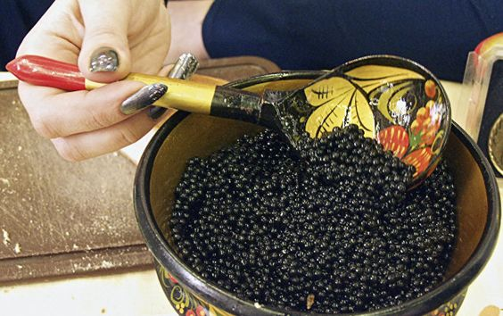 Get your spoons out, Russian caviar is coming!: