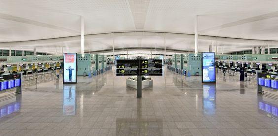 Barcelona Airport T1 / Ricardo Bofill Taller de Arquitectura