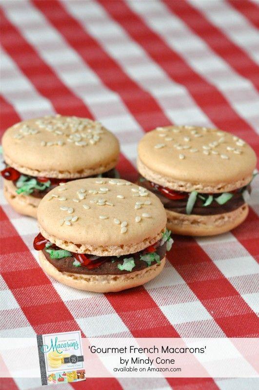 Una hamburguesa macarron ?!