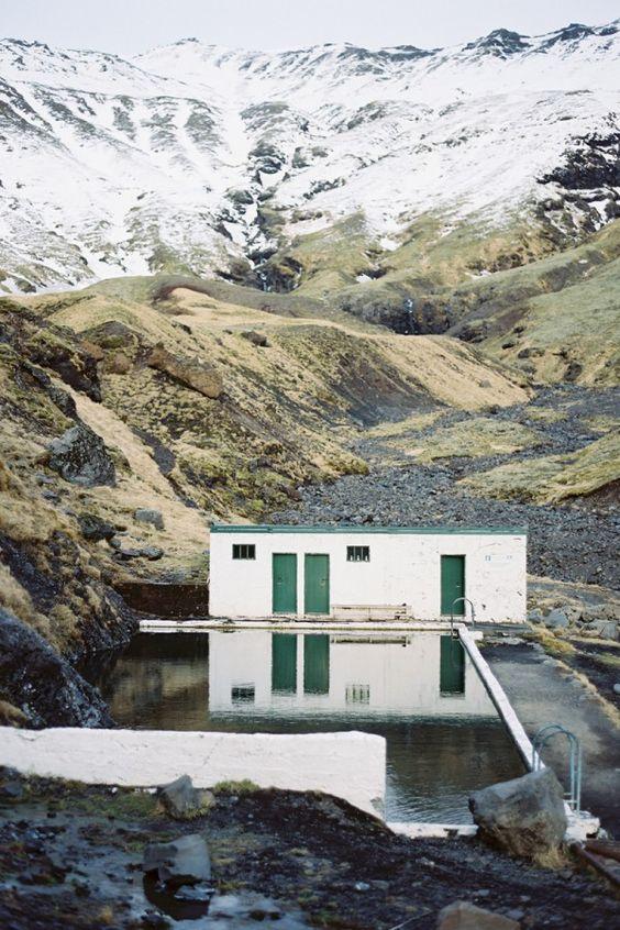 Seljavallalaug hot springs, Iceland | photo by Tec Petaja: