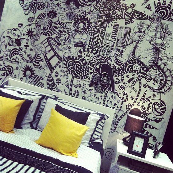 Inspiração de decor pro quarto! - @kittykills- #webstagram