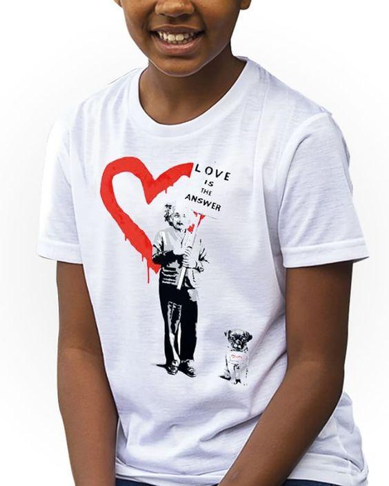 https://www.navdari.com/products-fk00005-BANKSYALBERTEINSTEINLOVEISTHEANSWERKidsTshirt.html #ALBERTEINSTEIN #EINSTEIN #LOVE #KIDS #TSHIRT #CLOTHING #FORKIDS #SPECIALKIDS #KID #GIRLS #GIRLSTSHIRT