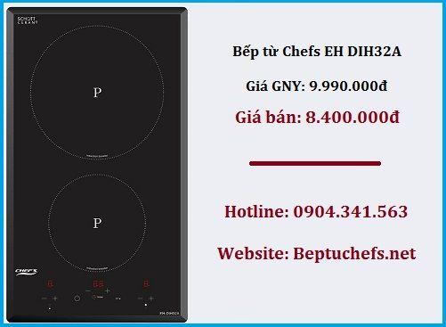 Những mẫu bếp từ Chefs dưới 10 triệu đồng