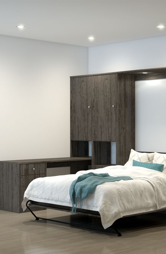 The Office Guest Room Combo Wall Bed