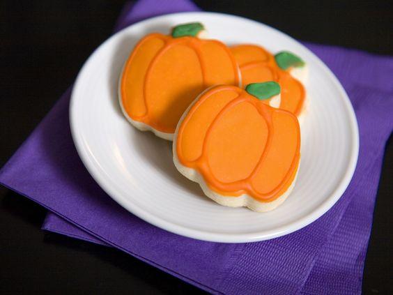 Kürbiskekse für Halloween - Zeit: 30 Min.   eatsmarter.de
