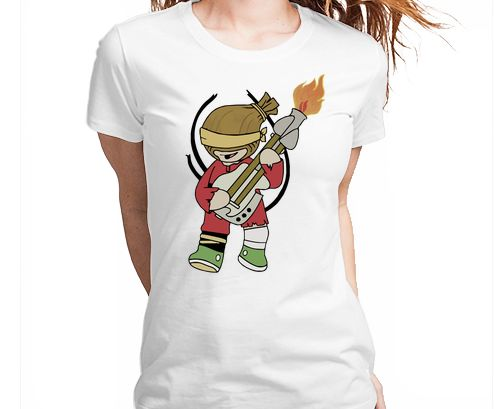 Mad Max Fury Road - The Doof Warrior Tshirt Camiseta Camisa Tee