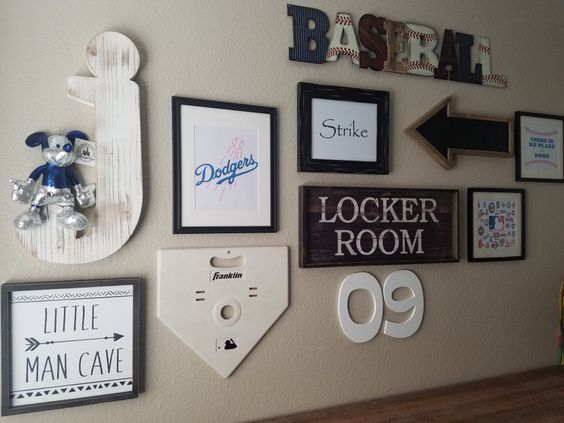 Best 25 Baseball Wall Decor Ideas On Pinterest