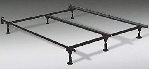 Amazing Offer On Soft Sleeper Heavy Duty King Metal Bed Frame Center Support 6 Glide Supports Fully Adjustable Queen King Cal King Online Popularbestselle In 2020 King Metal Bed Frame
