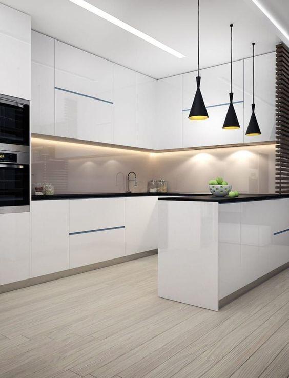 White Kitchen Designs Modern Kitchen Ideas Small Space Kitchen Design Kitchen Layout Kitch White Kitchen Design Modern Kitchen Design Luxury Kitchen Design