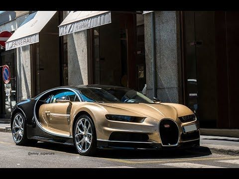 Bugatti Chiron Startup Sound Milan Chrome Mustang And Ford