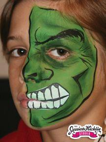 Hulk Face Painting | Face Painting | face painting ...